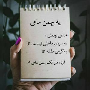 یه بهمن ماهی خاص بودنش به سردی ماهش نیست