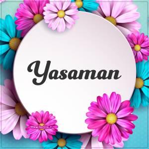 یاسمن به انگلیسی طرح گل های صورتی