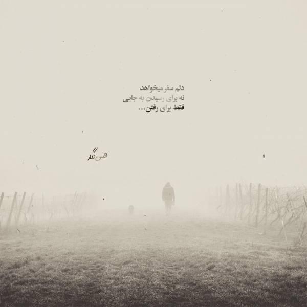 دلم سفر میخواهد نه برای رسیدن