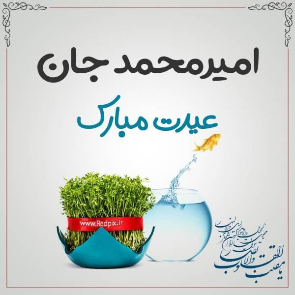 امیرمحمد جان عیدت مبارک طرح تبریک سال نو