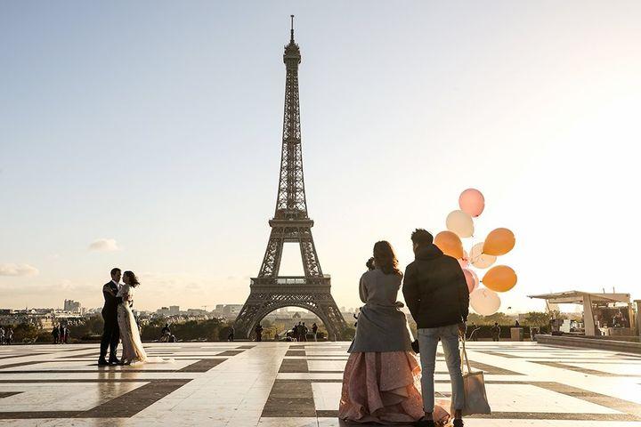 عکس برج ایفل برای تصویر زمینه